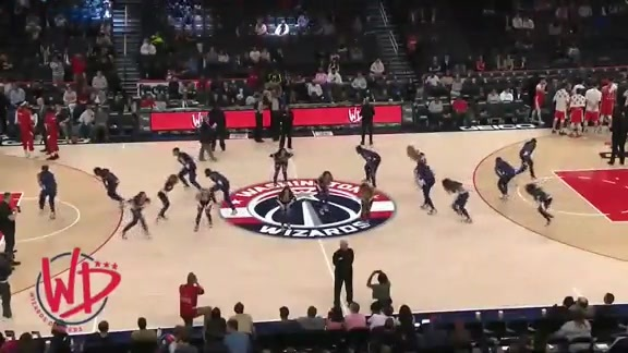 Wizards Dancers 2nd Half - 10/9/19