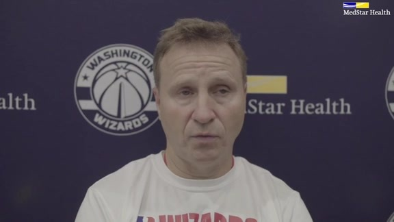 Scott Brooks Post-Practice - 10/16/19