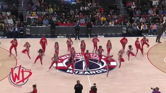 Wizards Dancers 1st Half - 10/13/19