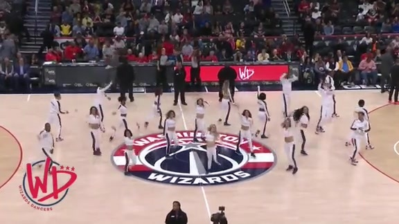 Wizards Dancers 2nd Half - 10/13/19
