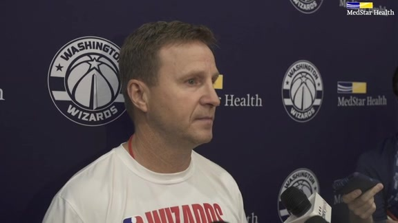 Scott Brooks Post-Practice - 10/21/19