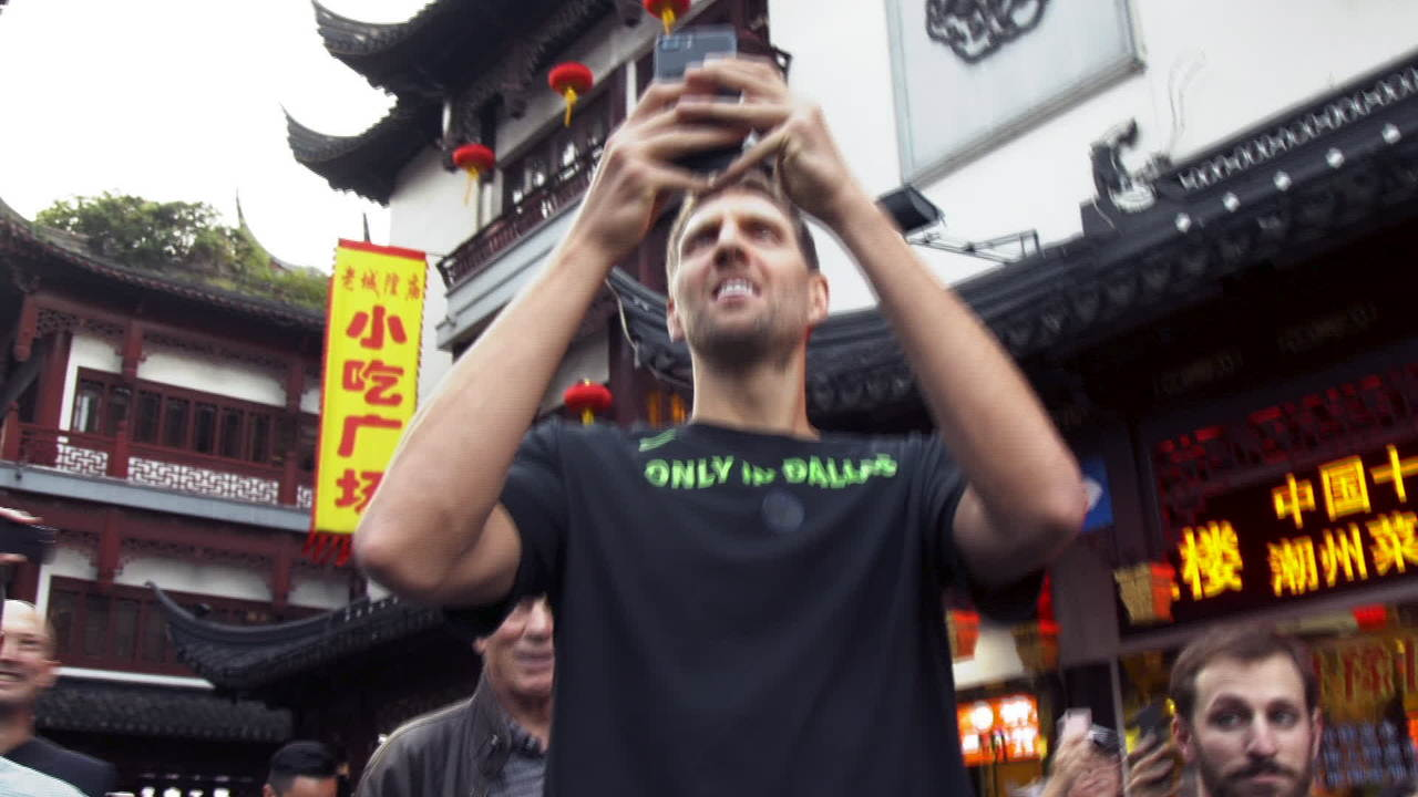 All-Access  Sixers and Mavericks in Shanghai  3eacb0db4