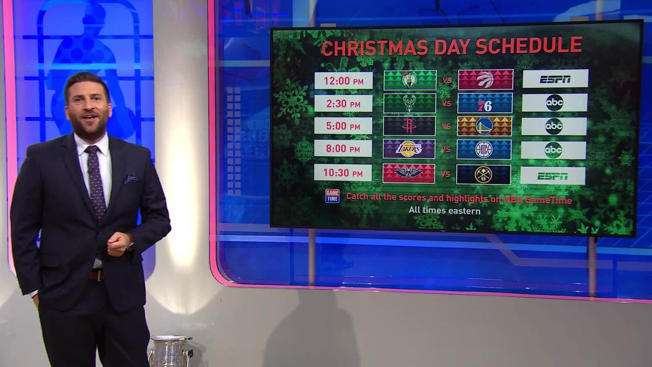 Nba Schedule Christmas 2020 NBA unveils 2019 20 game and national television schedules   NBA.com